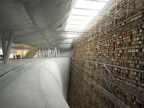 Stockholm Public Library Concept