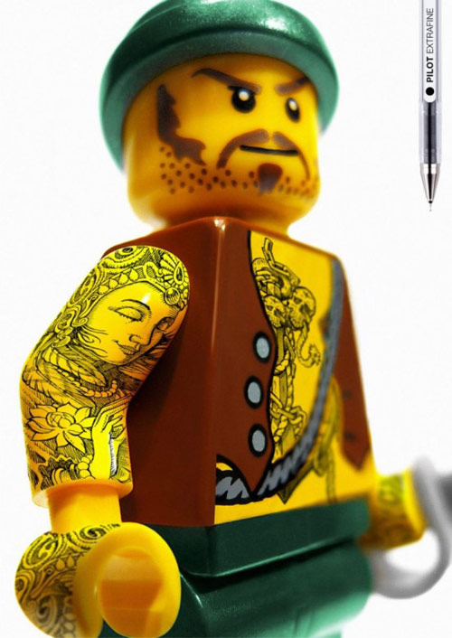 Lego with Tattoos